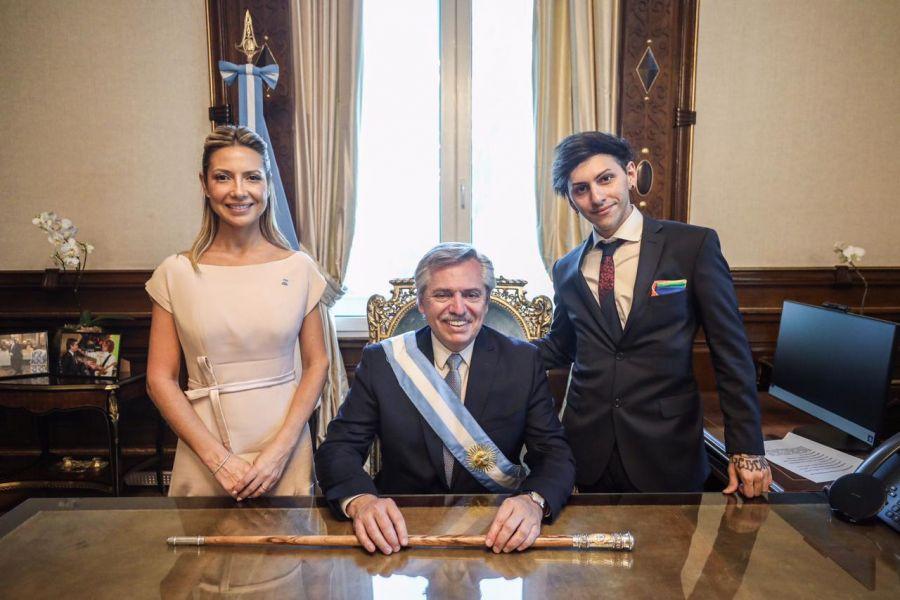 Fabiola Yáñez cautivó con su primer outfit como Primera Dama Argentina