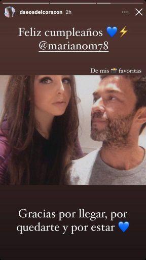 La foto que confirmaría la relación entre Mariano Martínez y María Fernández
