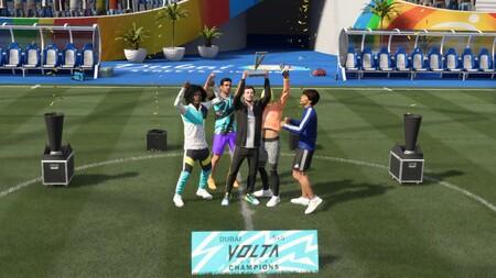 Fifa 21 El Debut De Volta En Los Menus 14