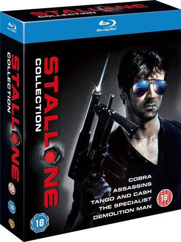 The Stallone Collection (5 Blu-Ray) [Edizione: Regno Unito] [Reino Unido] [Blu-ray]